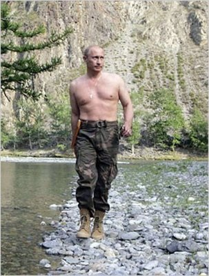 Image result for bare chested v putin gay dancing
