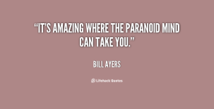 Image result for paranoid bill ayers
